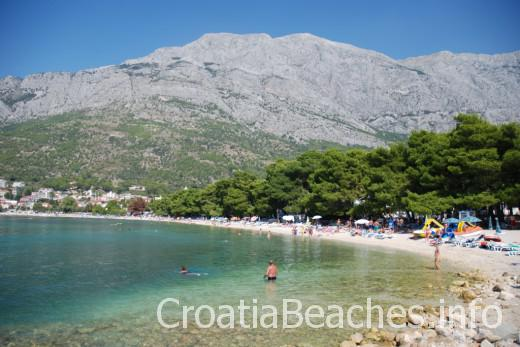 Baska Voda Nikolina beach