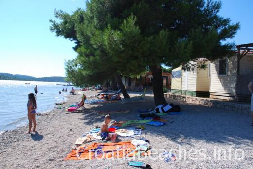 Pirovac Camp miran beach