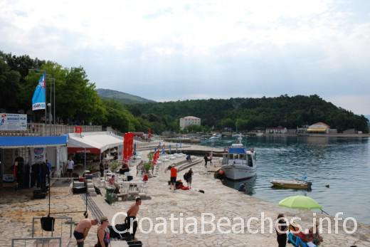 Selce Slana bay beach