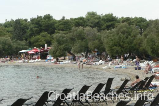 Vodice Blue beach Plava plaza